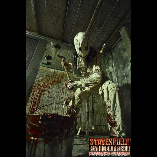 Haunted Places In Pa Halloween: Statesville Haunted Prison®