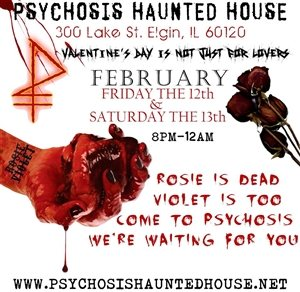 Psychosis Haunted House Presents: My Bloody Valentine